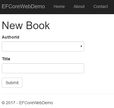 Getting Started With Entity Framework Core - ASP NET Core | Learn